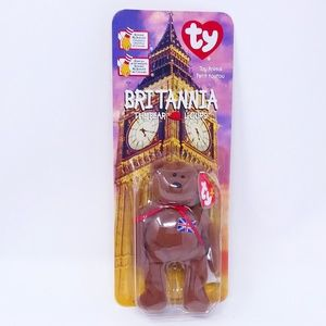 1999 TY Beanie Baby - BRITTANIA the Bear